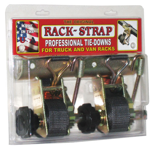 "Rack-Strap RS2 Gold Finish 1-7/8"" OD Round Mount Tie Down Two Pack #RS2-K8J-C"