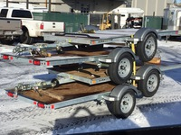 Karavan One Place Snowmobile Trailers Available