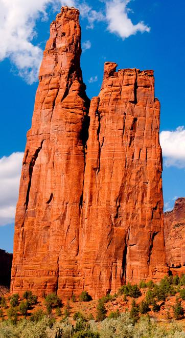 Spider Rock  Canyon De Chelly  Arizona