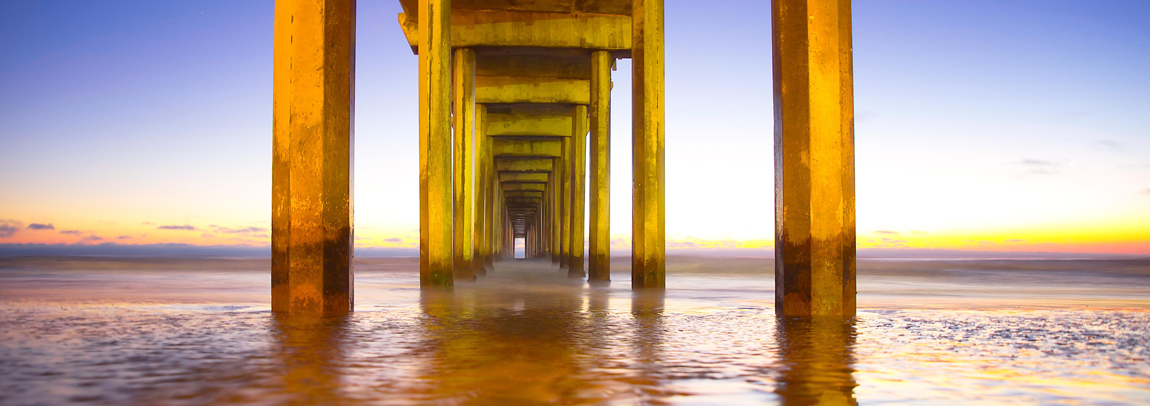 Sunset at Scripps Beach
