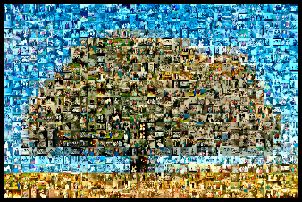 Photo Collage Family Tree