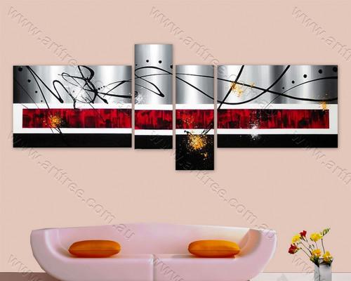 Shop 4 Panel Canvas Painting   Split Panel Canvas Wall Art