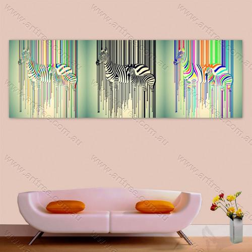 Modern Zebra Animal - Arttree