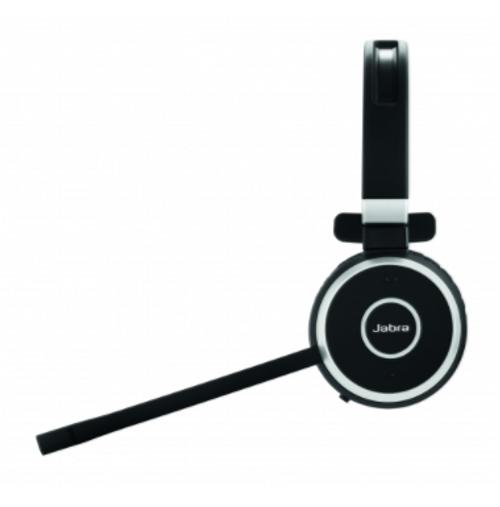 Jabra Evolve 65 Uc Mono Wireless Headset With Jabra Link: Jabra Evolve 65 Mono : Hybrid Wireless Headset