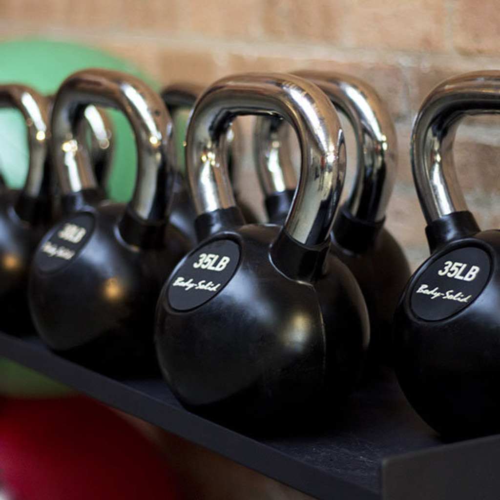Body Solid Chrome Handle Gym Weights