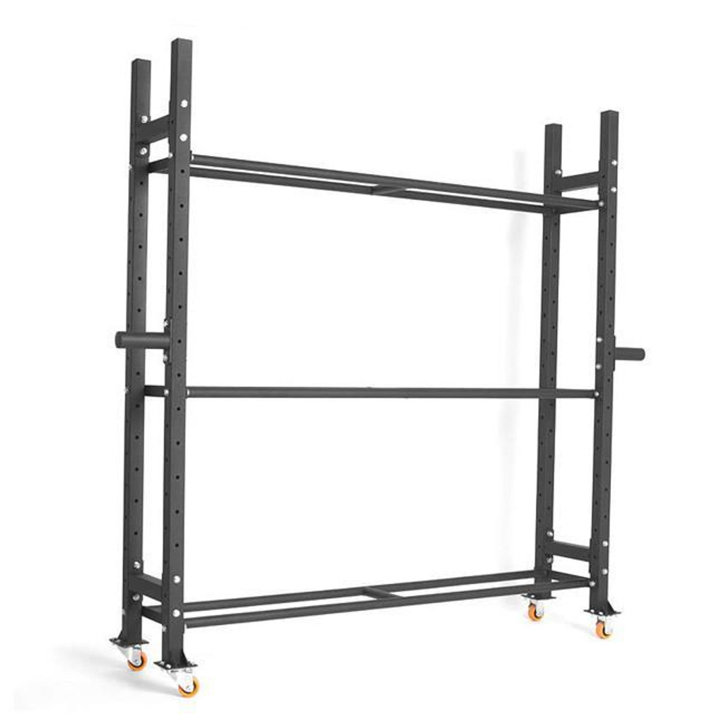 Xtreme Monkey Gym Equipment Rack with Wheels