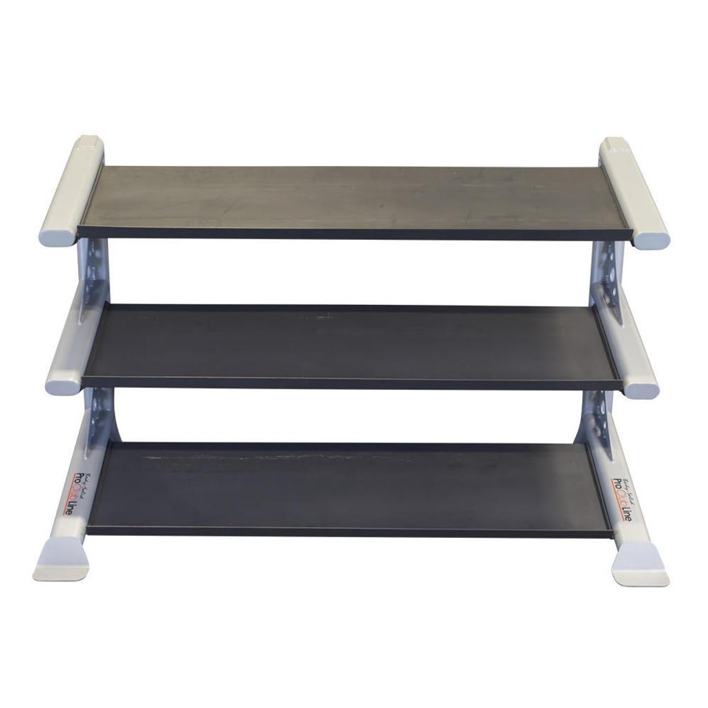 Body Solid 3-Tier Dumbbell Rack