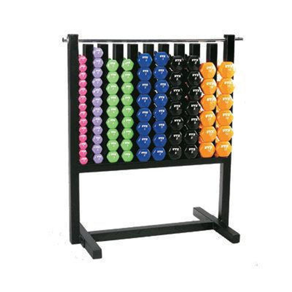 Troy Vinyl Dumbbell Rack