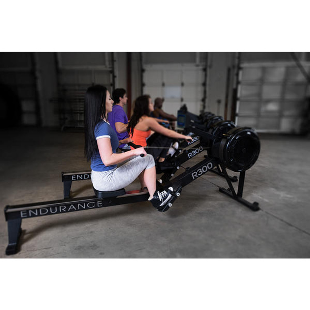 Body Solid Rowing Cardio Machines in Group Fitness Class