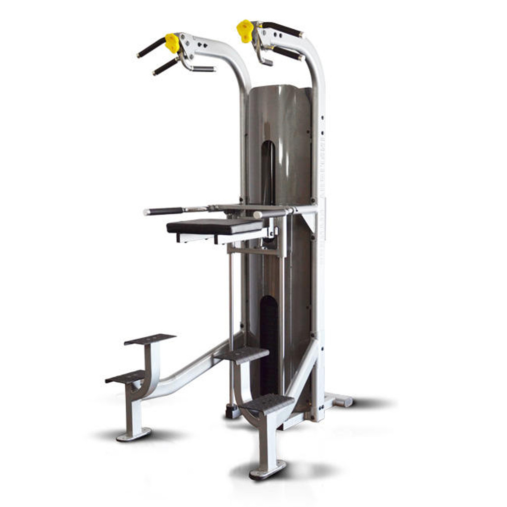 Assisted Chin Dip Weight Machine