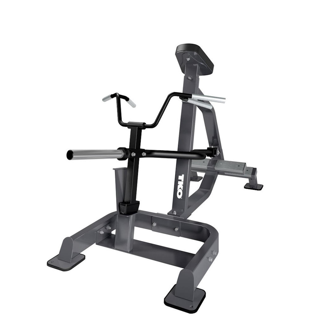 Commercial Plate Load Back Workout Machine
