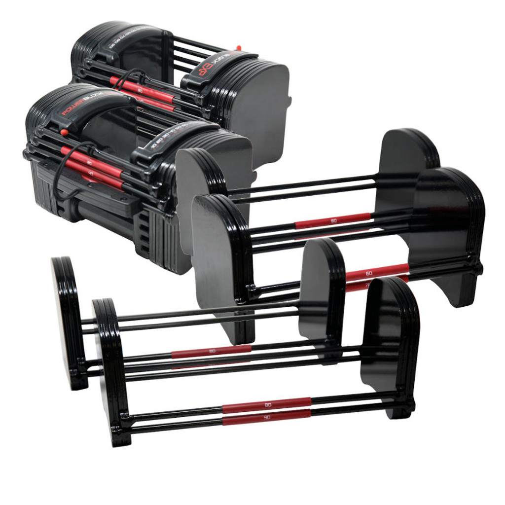 Powerblock 5-90 lb Dumbbells