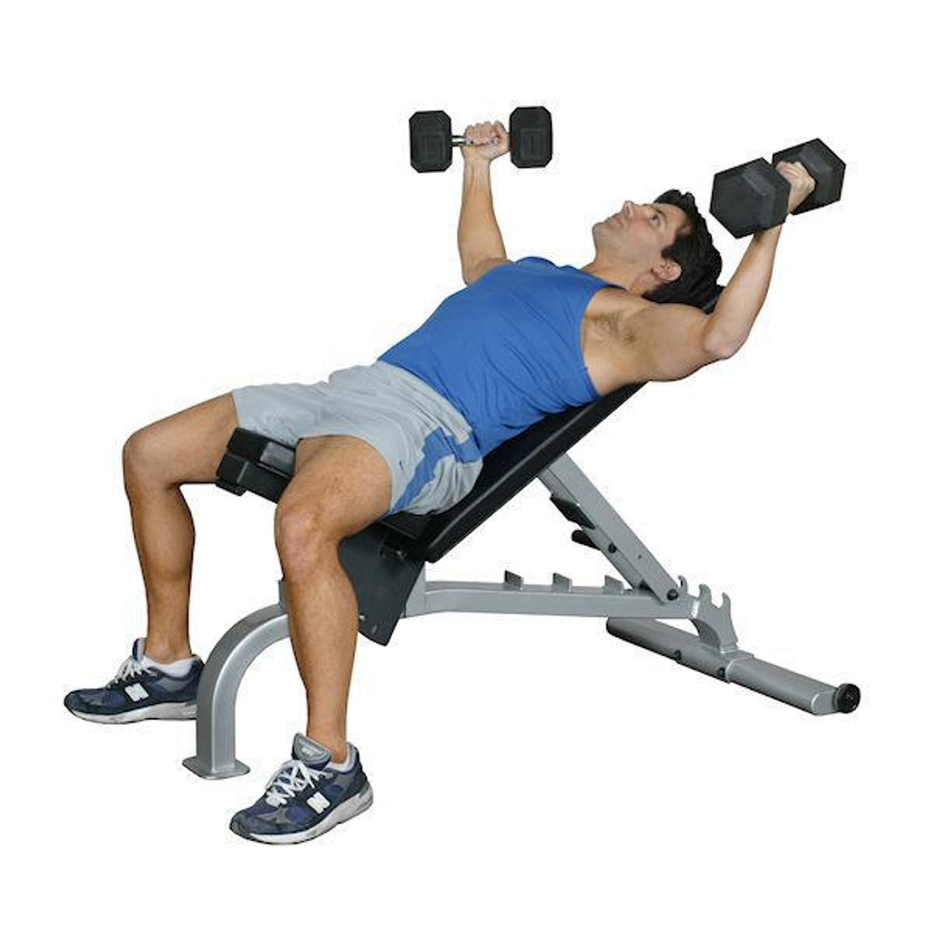 Inflight-Fitness Commercial FID Weightlifting Bench