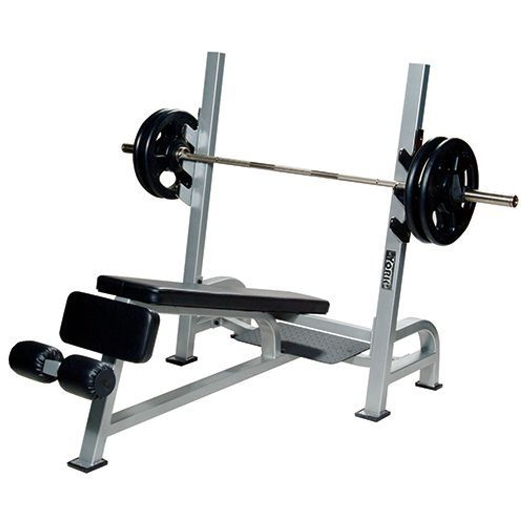 York Barbell STS Commercial Decline Bench Press