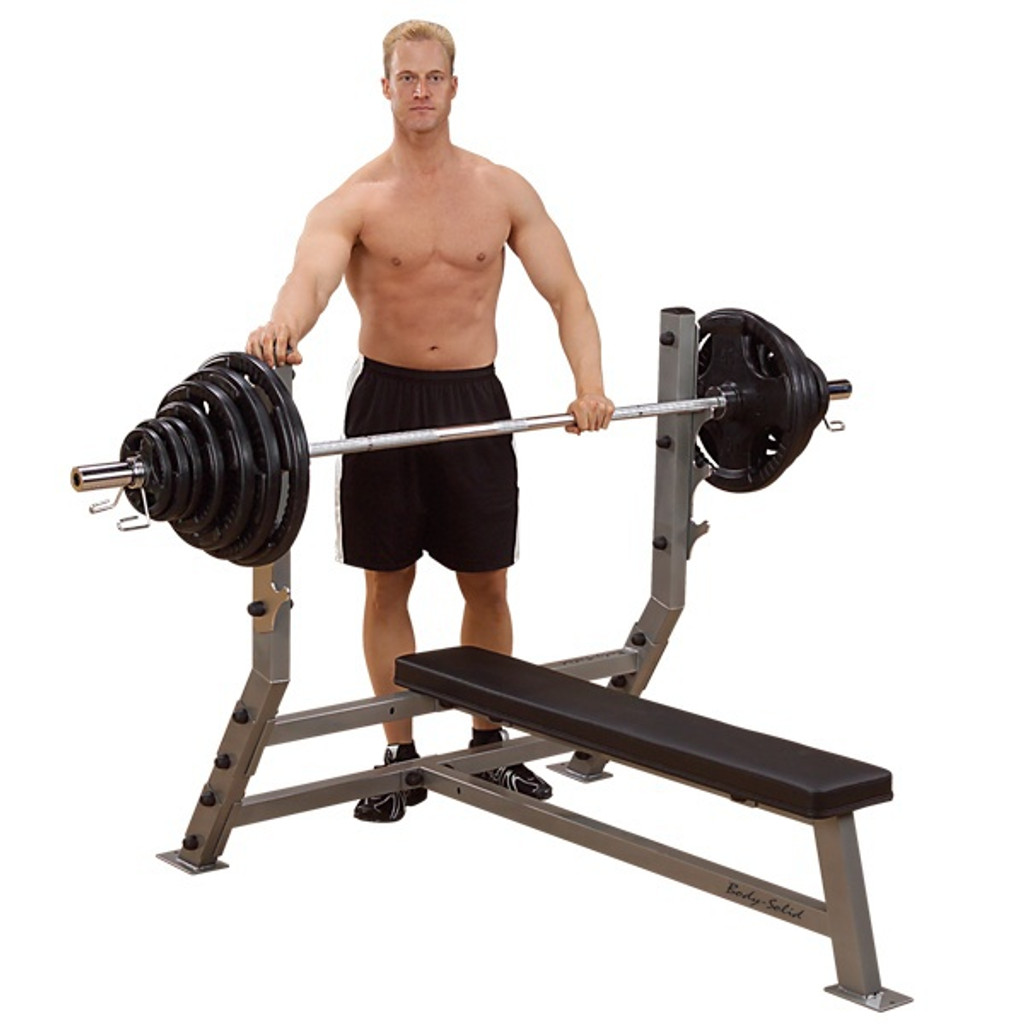 Body Solid Olympic Flat Bench