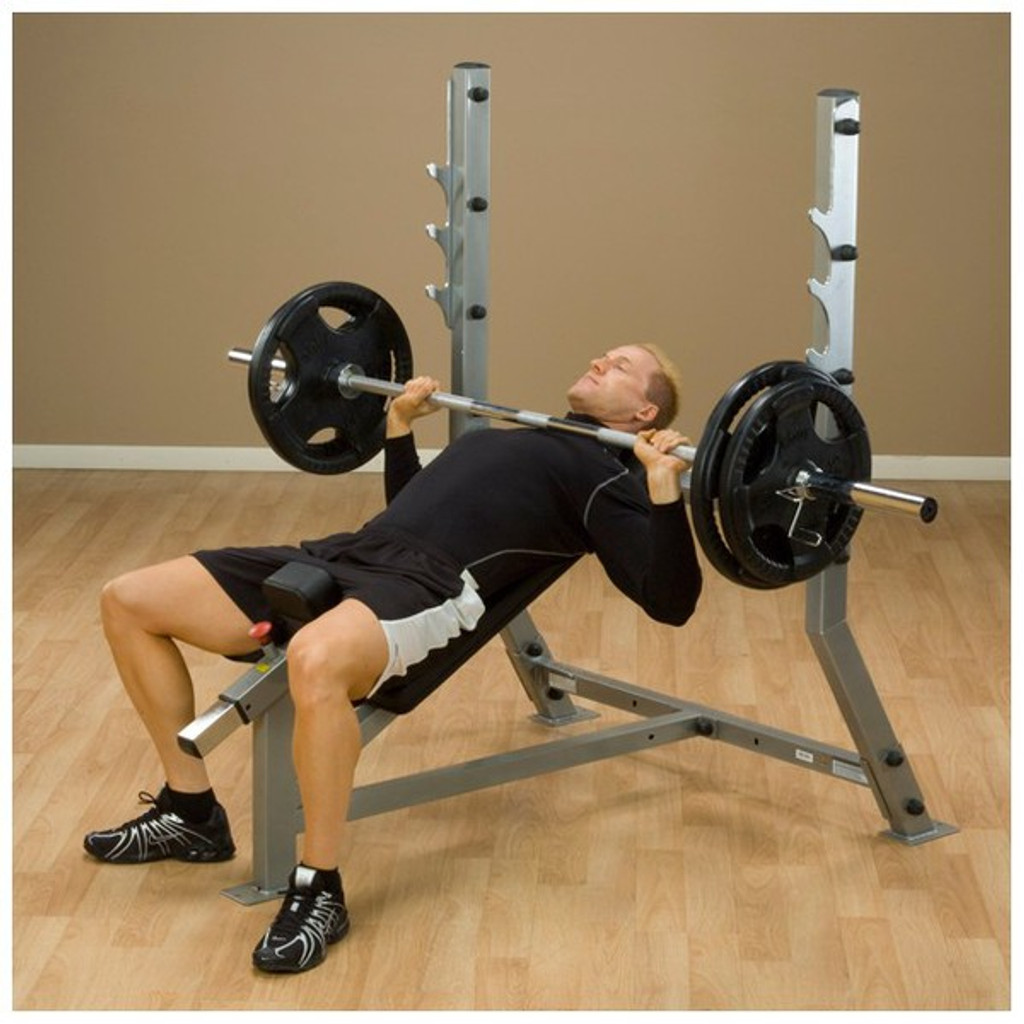 Body Solid Incline Olympic Workout Bench