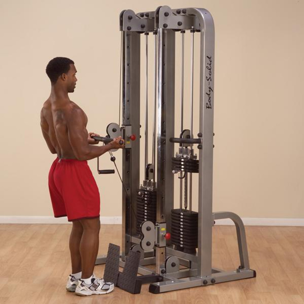 Body Solid Cable Workout Machine