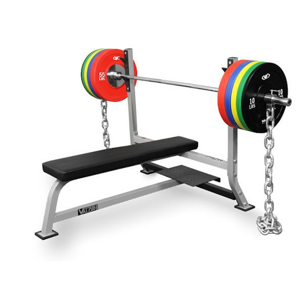 Valor BF-7 Bench Press with Spotter Platform