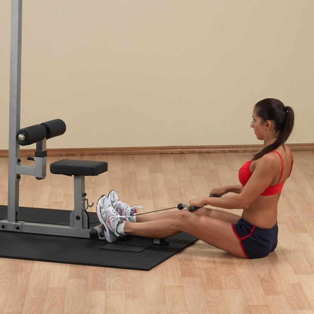 Body Solid Lat Pull Machine with Seated Low Row