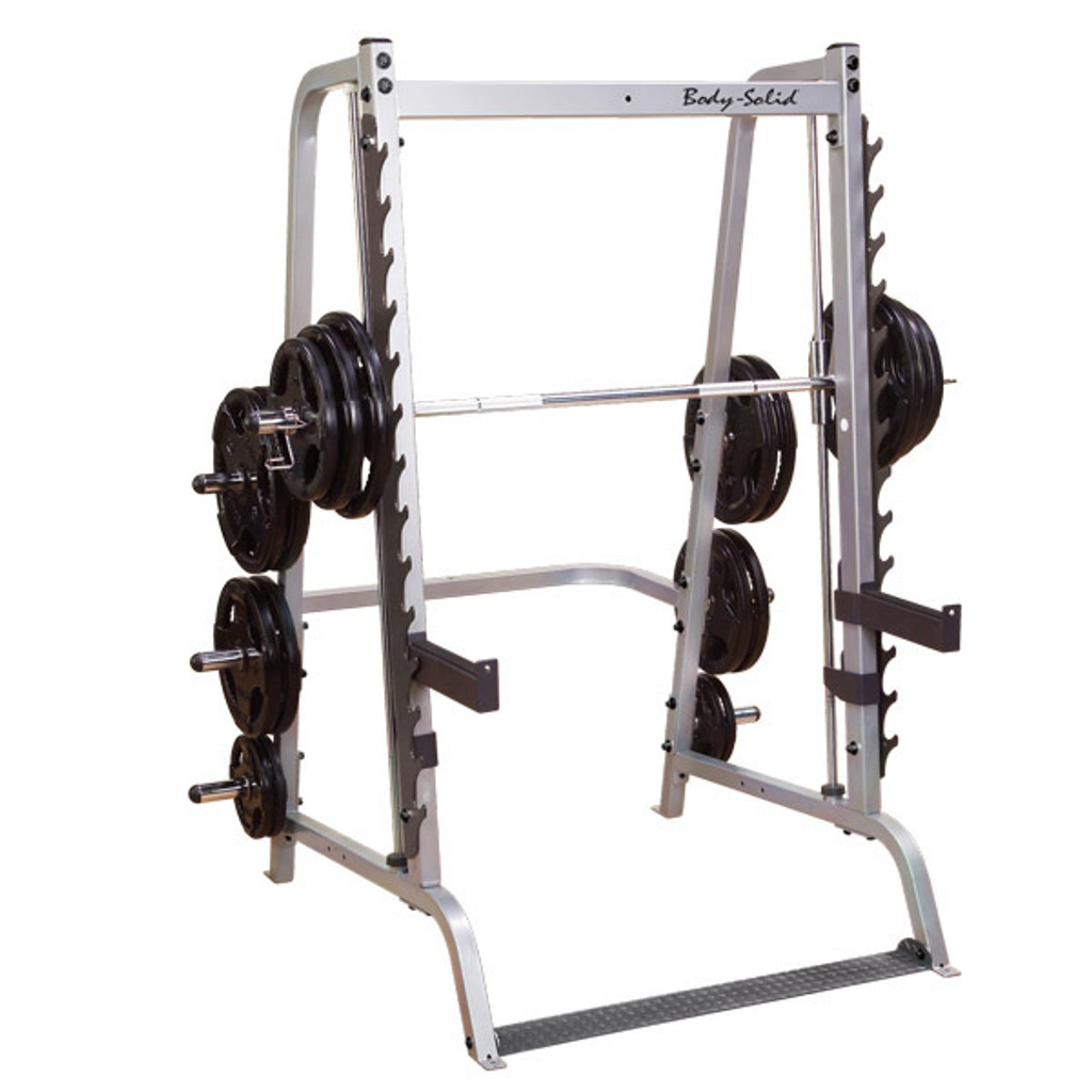 Body Solid Counterbalanced Smith Machine/Half Rack Combo