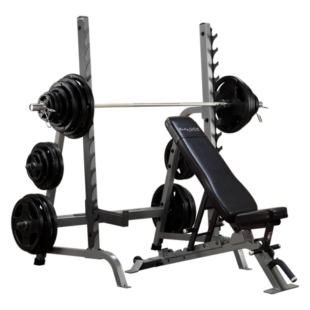 Body Solid Squat/Bench Combo Rack - SDIB370