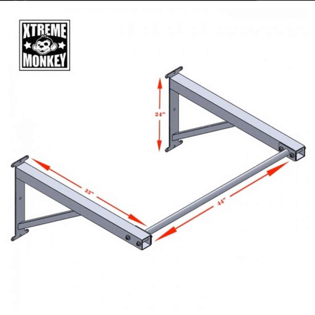 Xtreme Monkey Commercial Chin Up Bar Dimensions