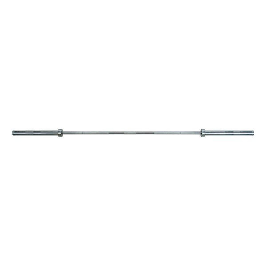 York Barbell 32011 Stainless Steel Weight Lifting Bar