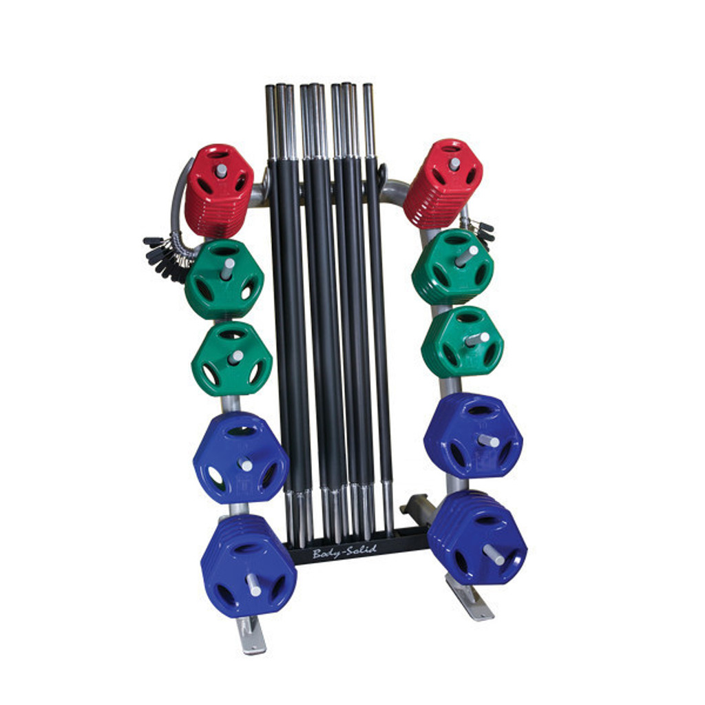 Body Solid Group Strength Barbell Set - GCRPACK