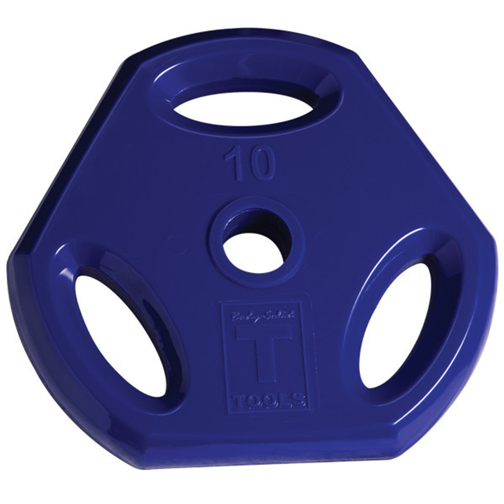 Body Solid 10 lb. Colored Grip Plate