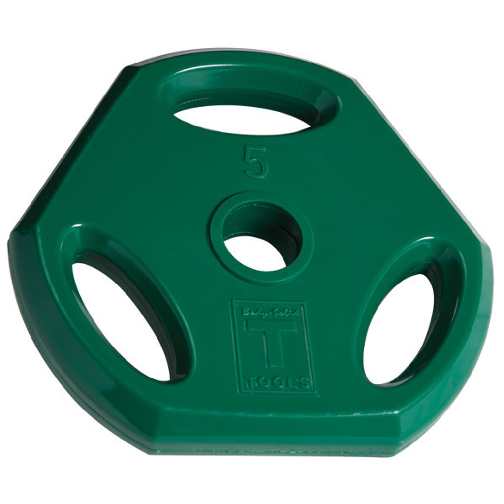 Body Solid 5 lb. Colored Grip Plate