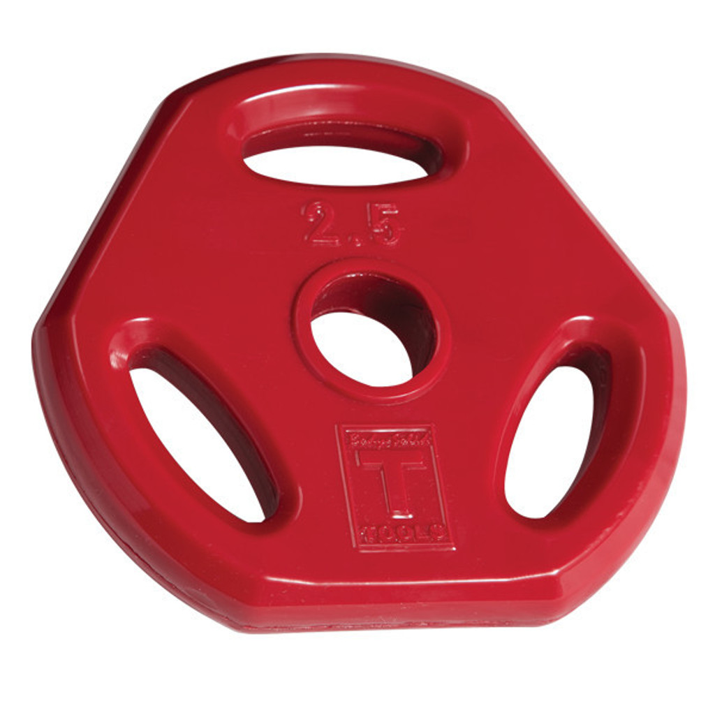 Body Solid 2.5 lb. Colored Grip Plate