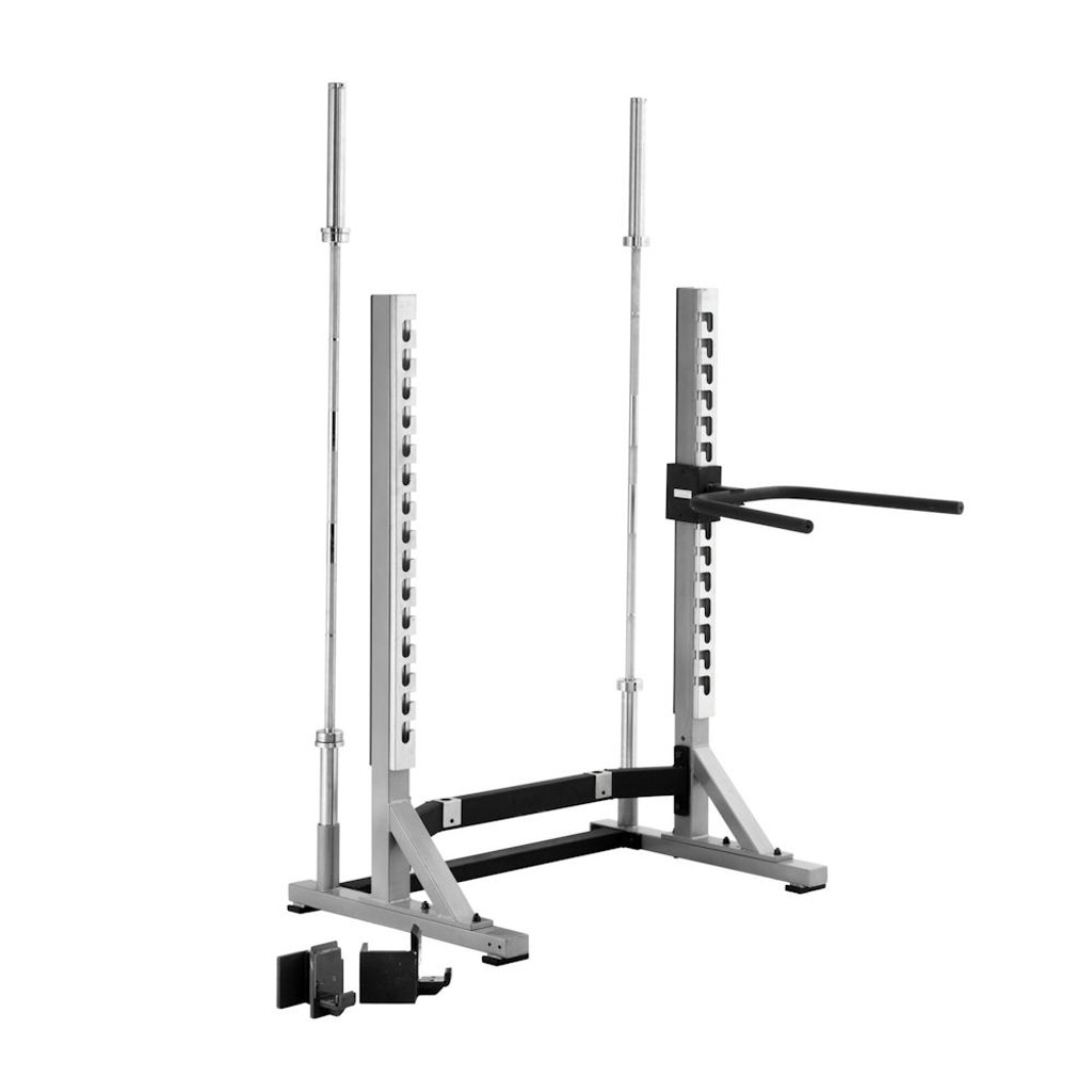 York Commercial Workout Rack
