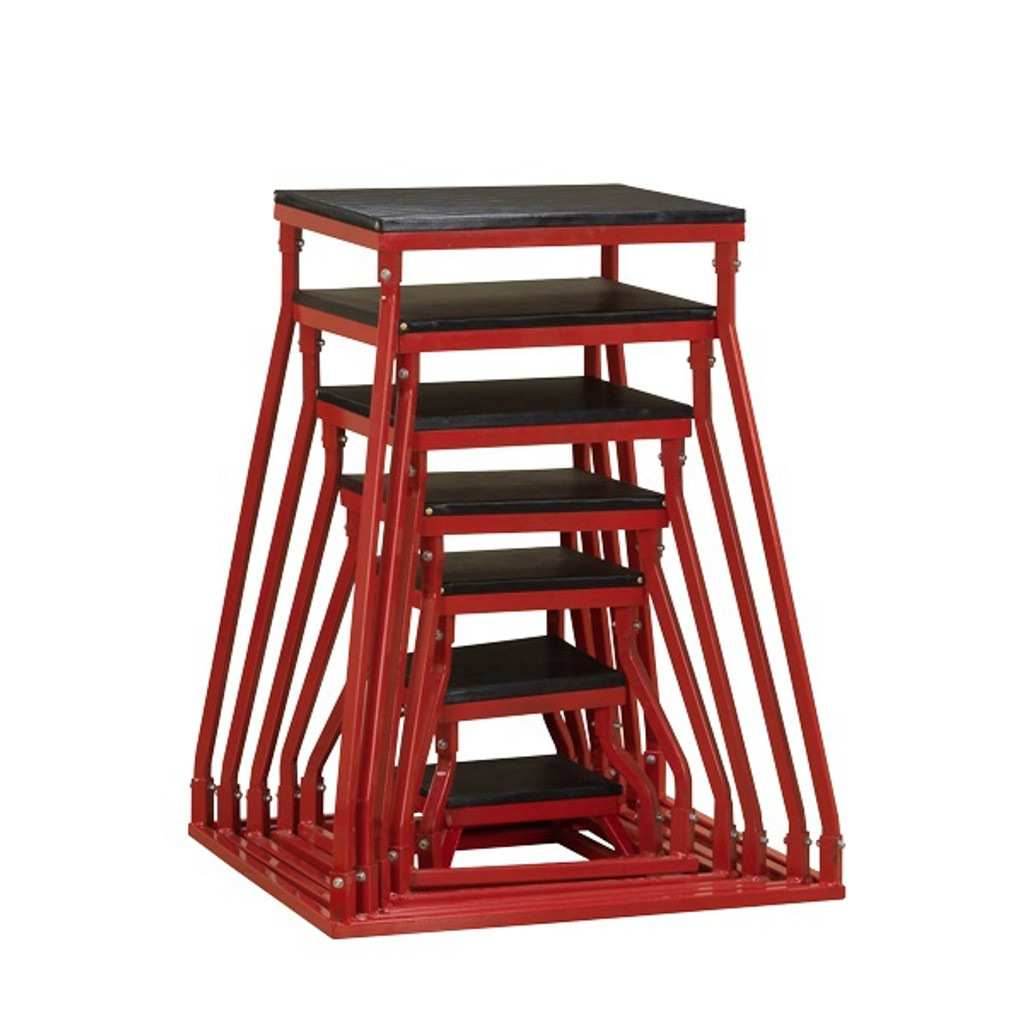 Body Solid BSTSB Steel Jumping Boxes