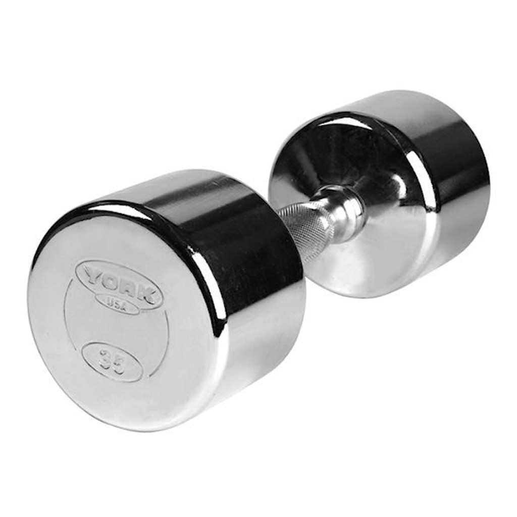 York Chrome Hand Weight