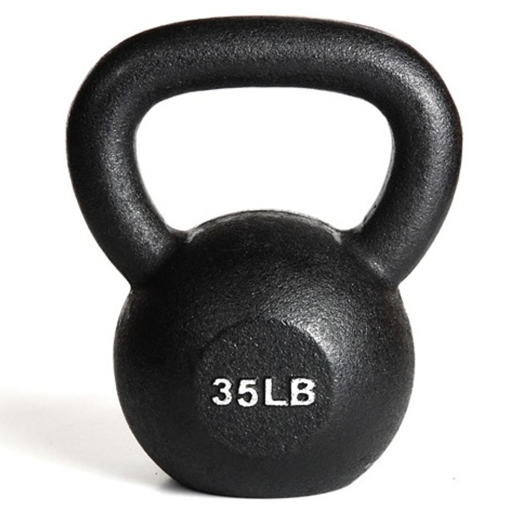York 35 lb Exercise Kettle Bell