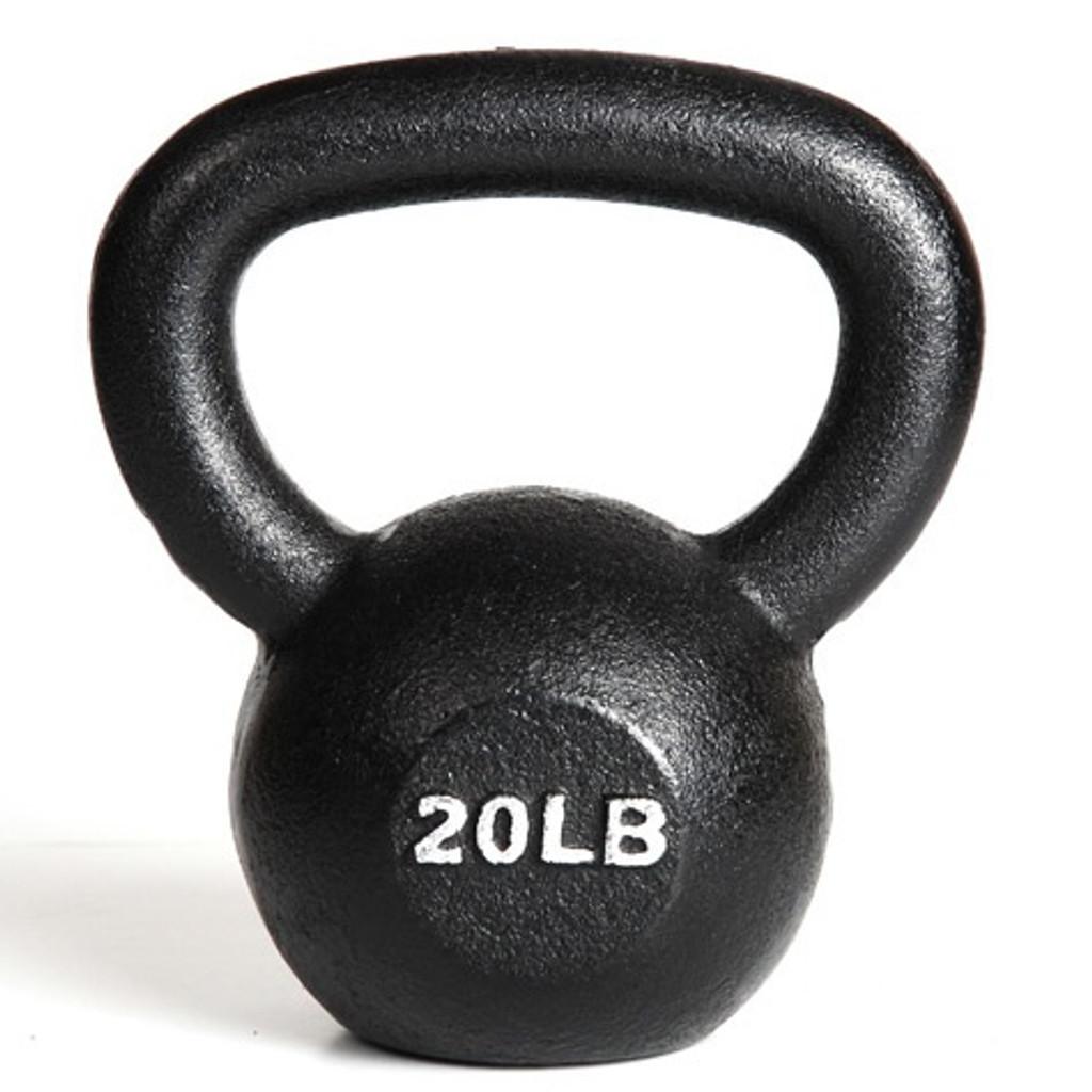 York 20 lb Fitness Kettlebell