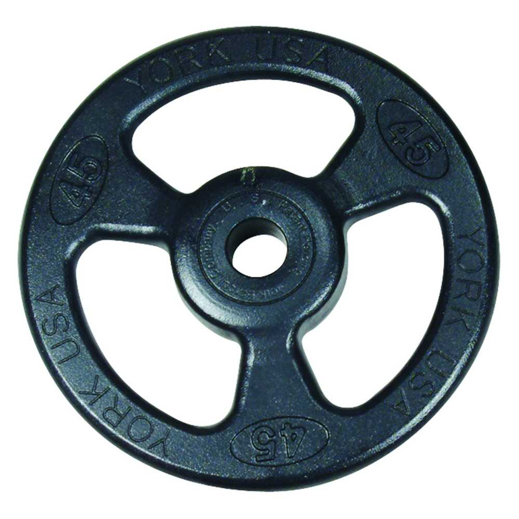 York Barbell Steel Grip Plate