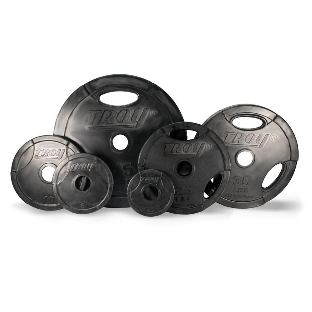 Troy Barbell GO-R Interlocking Rubber Plates