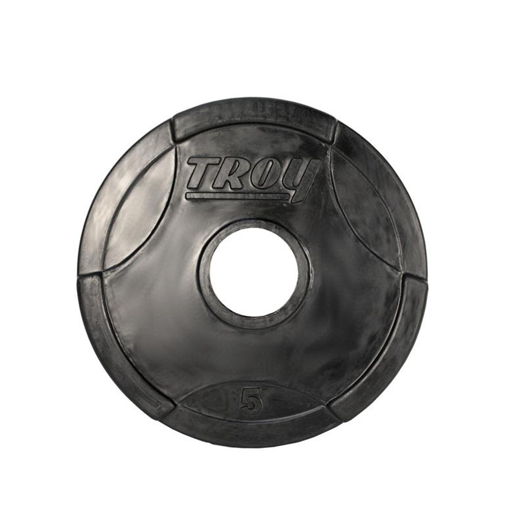 5 lb. Troy Commercial Rubber Encased Weight Plate