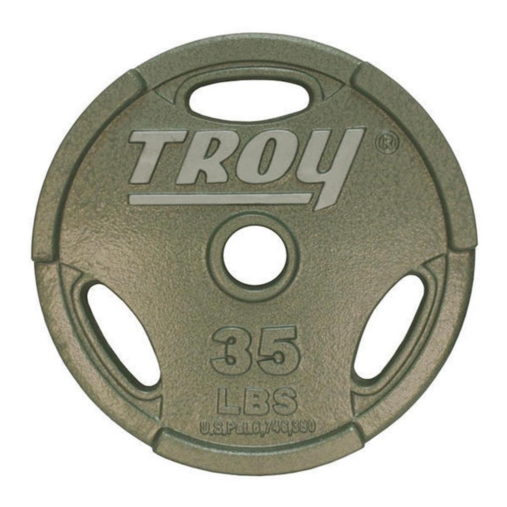 35 lb. Troy Interlocking Olympic Plate
