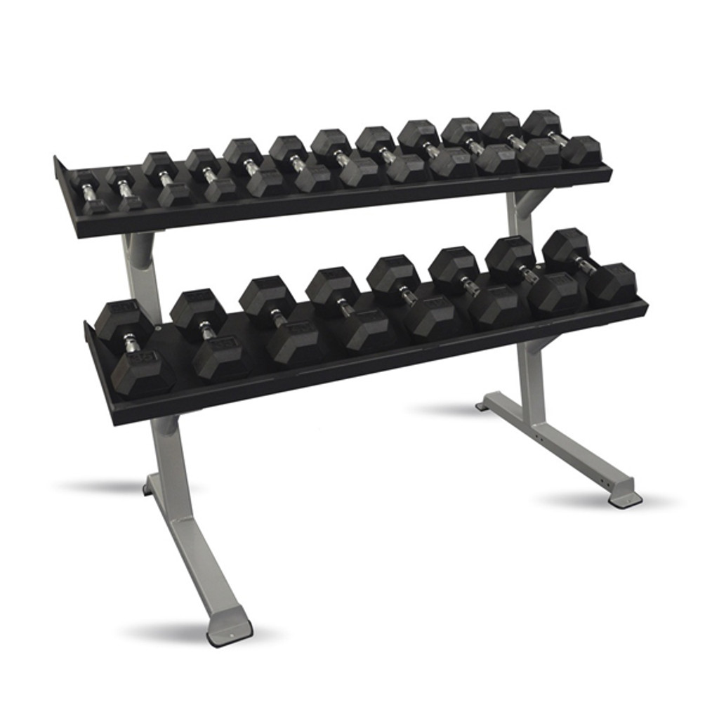 Inflight 5007-2 Commercial 2-Tier Weight Rack