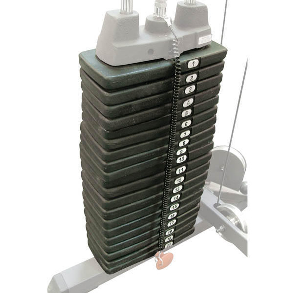 Body Solid 200 lb Weight Stack