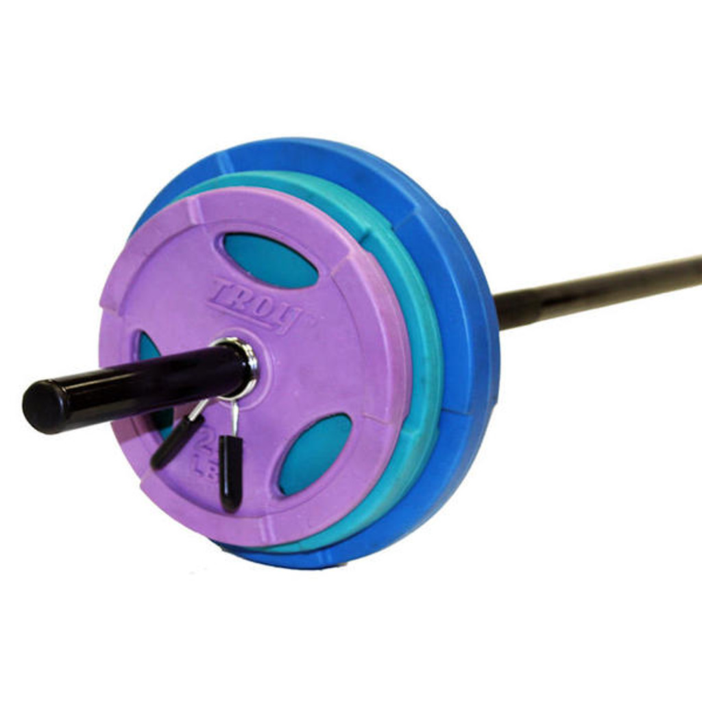 Troy Barbell 40 lb Colored Cardio Set