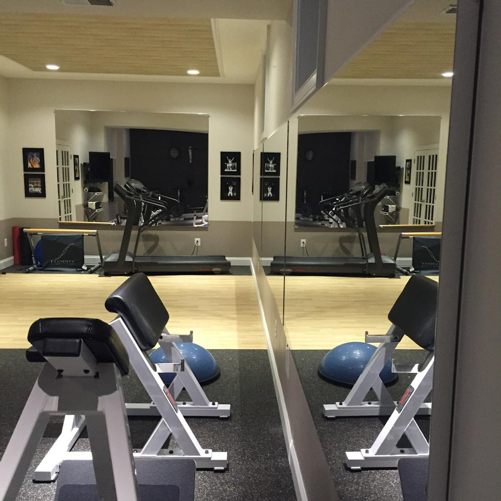 Glassless gym mirrors wall mounted gtech fitness