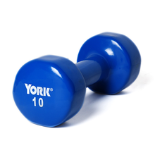 10 lb. York Vinyl Coated Fitbell