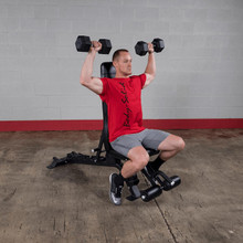 Body Solid Weight Lifting Bench - Shoulder Press Position