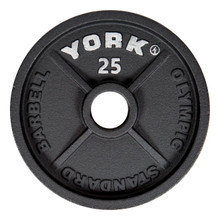 York 25 lb Gym Workout Plate