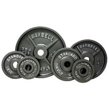 Troy USA Sports Gray Weight Plates