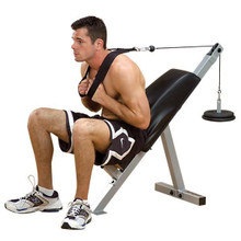 Body Solid Home Plate Load Ab Exercise Machine - Powerline