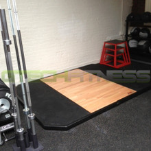 York Barbell Wooden Lifting Platform